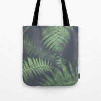 fern Tote Bags featuring fern by elle moss