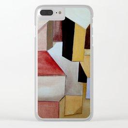 La Ciudad Ocre Clear iPhone Case