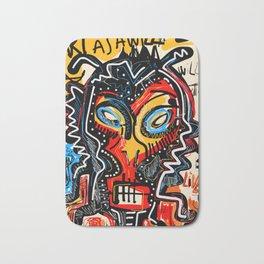 Art as a will to live Graffiti Street Art Bath Mat