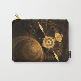 Golden Clock Carry-All Pouch