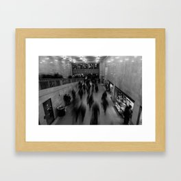 9 to 5 ghosts  Framed Art Print