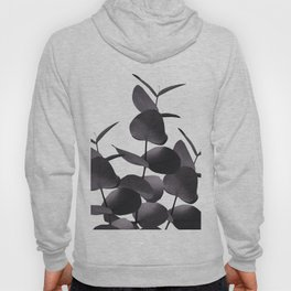 Eucalyptus Leaves Black White #1 #foliage #decor #art #society6 Hoody