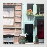 dentist Canvas Prints featuring SoHo Dentist by John Chehak