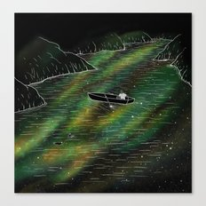 The Space Ship Canvas Print