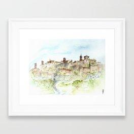 Lucignano, Italy Framed Art Print