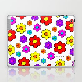 Pop Flowers Laptop & iPad Skin