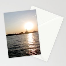 sunset - venice Stationery Cards