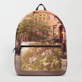 Brooklyn Heights neighborhood take me back Backpack
