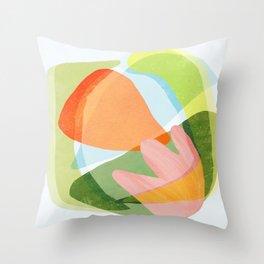 Spring Salad Throw Pillow