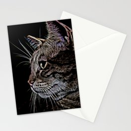 Loki in Neon Stationery Cards