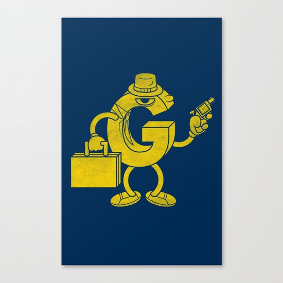 G-Man Canvas Print