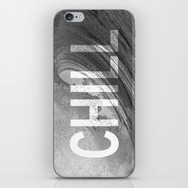 Chill Waves iPhone Skin