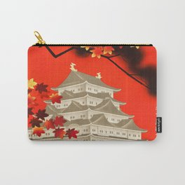 Autumn in Nagoya 1930s Vintage Travel Poster Carry-All Pouch