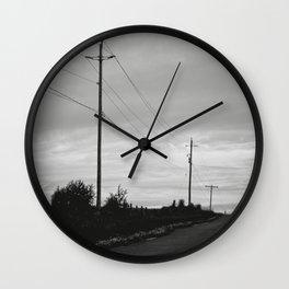 journey + destinations Wall Clock