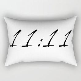 11:11 Rectangular Pillow