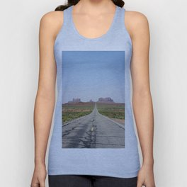 Monument Valley Veritcal Unisex Tank Top