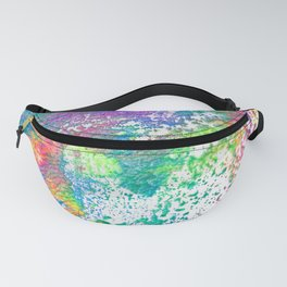 Rainbow Paint Splatter V2 Fanny Pack