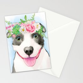 Pittie Love Stationery Cards