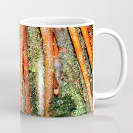 The Strong red ROOTS of The Sierra Palm in El Yunque rainforest PR Coffee Mug