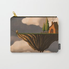 Fishing in the Clouds Carry-All Pouch