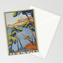 PLM Menton Placard Stationery Cards
