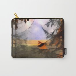 Distance Through Forest Carry-All Pouch