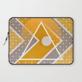 Fish - triangle sunset Laptop Sleeve