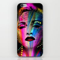 body iPhone & iPod Skins featuring Body by Michaëlis Moshe