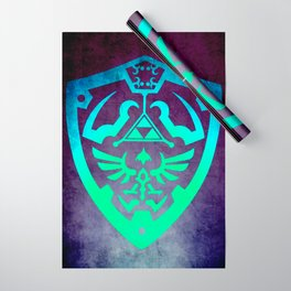 Zelda Shield Wrapping Paper
