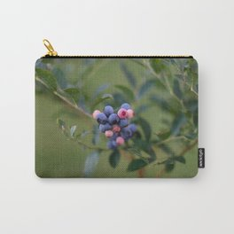 Summer Blueberries Carry-All Pouch
