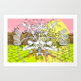 Supplication - REMIX Art Print