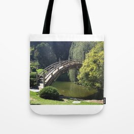 Bridge Over Non-Troubled Waters Tote Bag