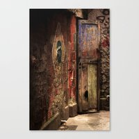 door Canvas Prints featuring Door by Studio Laura Campanella