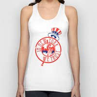 "yankees Tank Tops featuring ""Subway Series"" Yankees by InNYweTrust"