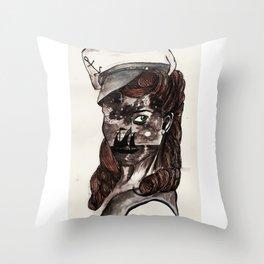 Starry Sailor Throw Pillow
