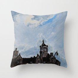 Union Station Nashville Throw Pillow
