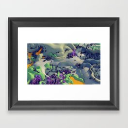 Outpost Alpha Framed Art Print