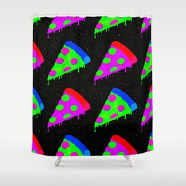 Pizza Invasion Shower Curtain