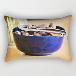 Still Life with Pecans Rectangular Pillow