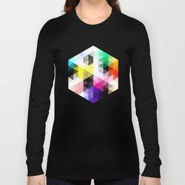Geo Hex 01. Long Sleeve T-shirt