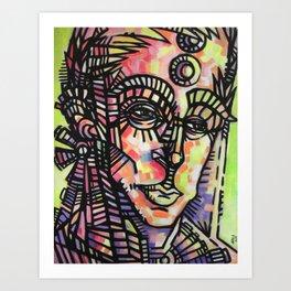 """The Sentry"" (Original) Art Print"