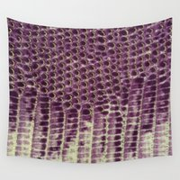 honeycomb Wall Tapestries featuring Honeycomb by BellagioVista