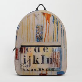"""""""Falling into Place"""" Backpack"""