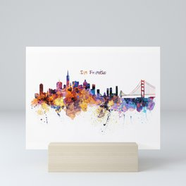 San Francisco Skyline Mini Art Print