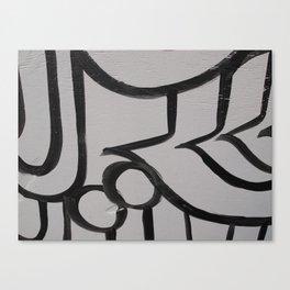 Linework 3 Canvas Print