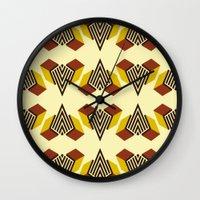 diamond Wall Clocks featuring Diamond by DLKG Design