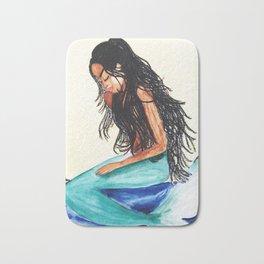 Moonlight Mermaid Bath Mat