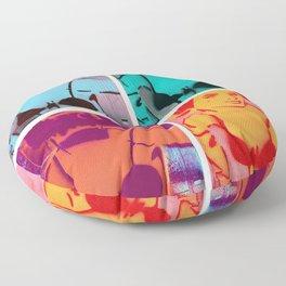 Pinup Girl Floppies 3 Floor Pillow