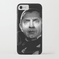 actor iPhone & iPod Cases featuring Bela Lugosi is Dead by Thubakabra