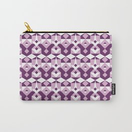 Lilac Pattern Carry-All Pouch